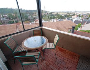 Mission Bay townhome photo - Patio off living area with gas BBQ