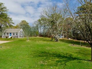 Chilmark house photo - Guest Cottage Sits Quietly Up The Hill From Main House