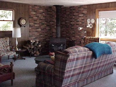 Sturgeon Bay house rental - Living Area