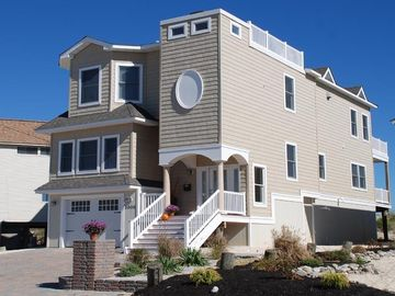 Brant Beach house rental - Long Beach Island Oceanfront House for Rent