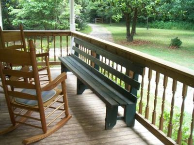 Experience the Best Rocking Chair Porch in the Smoky Mountains
