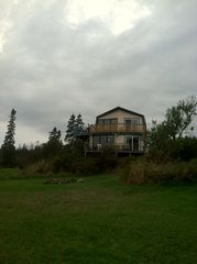 Lubec house photo - nightime