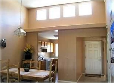 Skylights add to light, bright feeling throughout townhouse