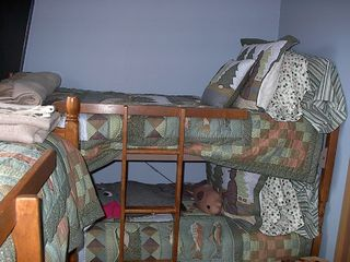Glenwood cabin photo - Kids bunk beds