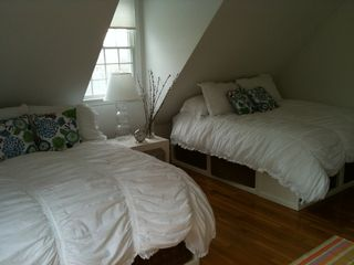 Dennis Village house photo - Bedroom #1 - 2 queen beds and adjoining full bath