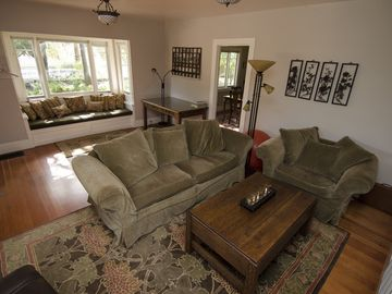 Ojai house rental - Living Room