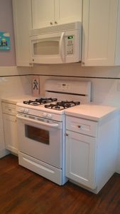 all new appliances, gas range, lots of stuff for cooking!