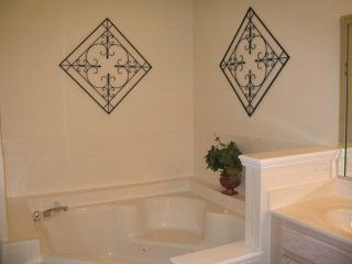 Master Bath with jetted tub and separate shower. Double sinks.