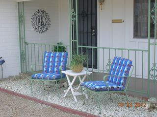 Sun City cottage photo - Great sitting areas in front and in back!