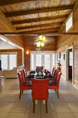 Big Pine Key house photo - DINING ROOM VIEW WITH VAULTED CEILING