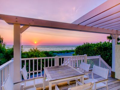 World renowned sunsets from your front porch.