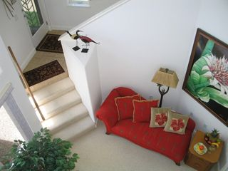Princeville house photo - View of lower foyer - great reading area