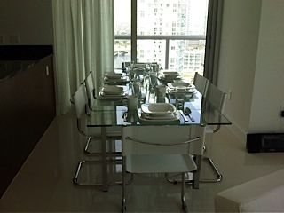 Brickell apartment photo - Dining Room