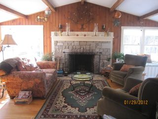 Cape Elizabeth cottage photo - Living room