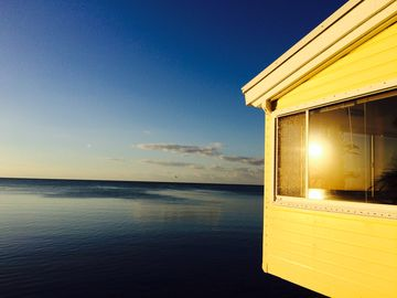Lower Matecumbe Key cottage rental - Sunrise view from the porch