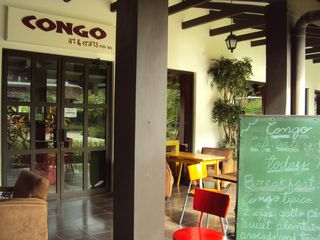 Playa del Coco condo photo - Enjoy delicious local food at Congo cafe & art shop.