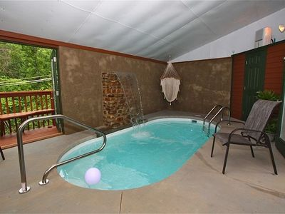 Cabin For 2 W Indoor Swimming Pool And Vrbo