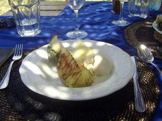 Zanzibar North villa photo - Pineapple and vanilla ice cream