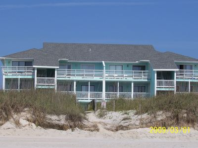 Condo Building Facing Ocean