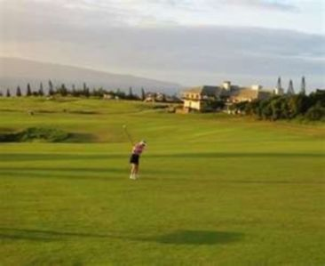 Plantation Golf Course and Club House Site of the Kapalua Hyandai Open