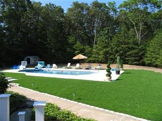 Sandwich house photo - Fenced huge backyard with gorgeous pool