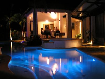 Night View, Blue Pools Beach House Cairns