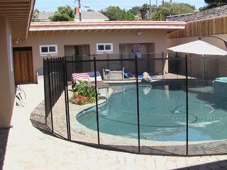 San Diego house photo - Fully Removable 5 Foot High Child Safety Fence