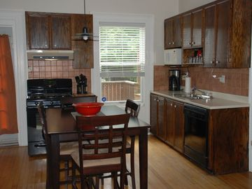 Kitchen, taken from the living room