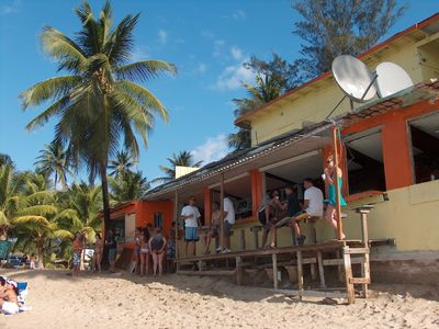 Or hang out at the Sonia Rican Beach Bar, right on Jobo's beach