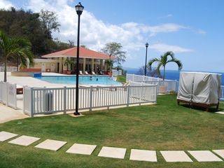 Aguadilla apartment photo - A few steps to infinity pool, jacuzzi and gazebo!