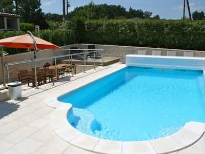 Superb Farmhouse Complex with Heated Pool. Near Ste Foy la Grande. Sleeps 4-16