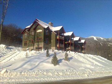Killington condo rental - The Lodges B104 is nearest camera ground floor