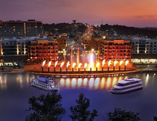 Branson cabin photo - Free Fire/Water/Music show- the new Branson Landing - a MUST SEE, already famous