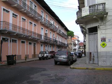 Casco Viejo the old town an easy drive or bus ride from the loft