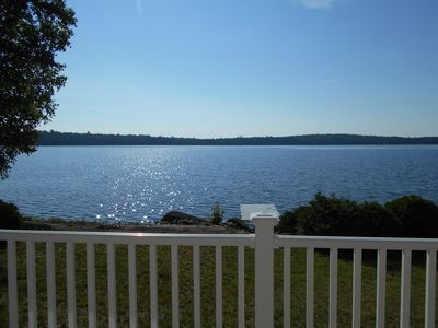 Private, Pristine Lake-Side Cottage On Brackett Lake (East Grand Region, Maine)