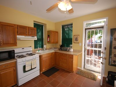 Located off the kitchen is an enclosed patio. Great spot to relax !!!