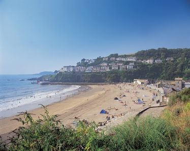 Looe Beach - just yards away