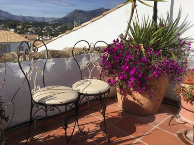 Spacious, charming town house in heart of old Altea - 5 minutes walk to beach