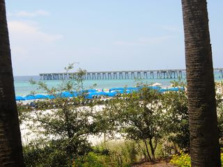 Calypso Resort condo photo - The very long new pier is just steps from Calypso. It is like deep-sea fishing.