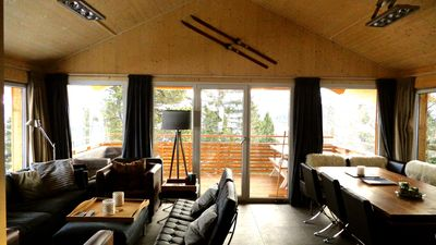 Luxurious wooden chalet with private SPA in Austria