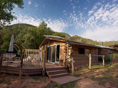 Abiquiu cabin rental - Ranch Casita