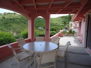 St. Croix villa photo - Outdoor Dining