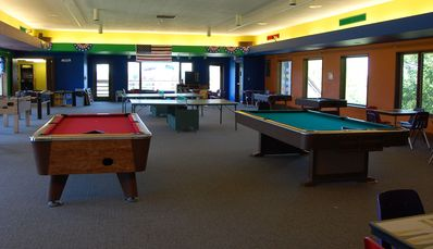 Galena house rental - Game room is open all year round.