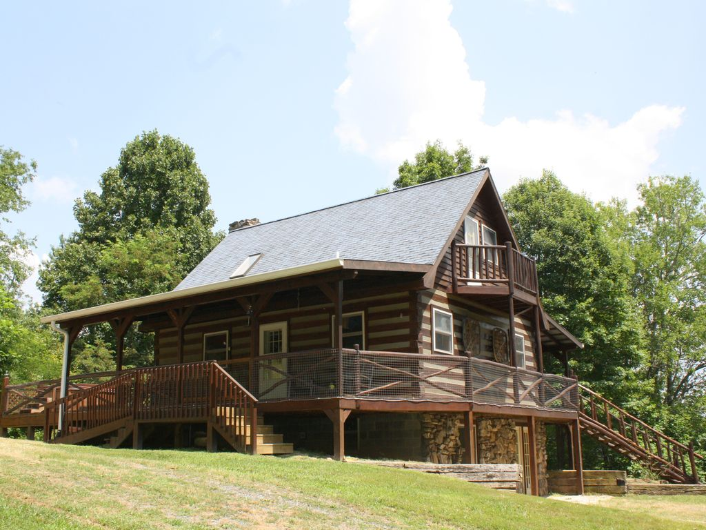 Hot springs vacation rental vrbo 387756 1 br smoky Smoky mountain nc cabin rentals