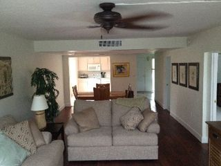 Sanibel Island condo photo - Large ceiling fans in every room keep the temperature perfect throughout!