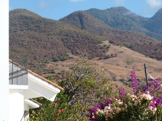 Oaxaca villa photo - Terrace with mountain view