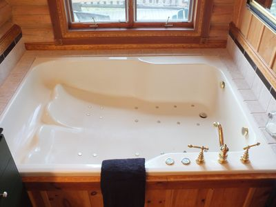 You will LOVE our Jacuzzi tub in Master Bath