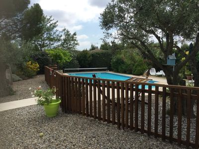 BEAUTIFUL POOL LARGE GARDEN IN PEACE NEAR CITY CARCASSONNE