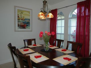 Cape Coral villa photo - Formal dining area with views over the front garden