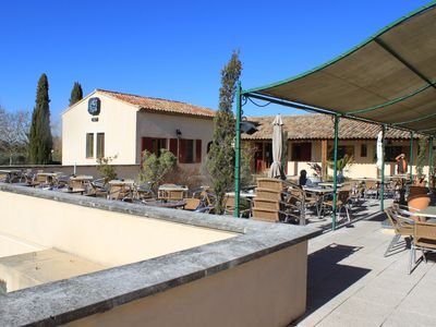 Mallemort-De-Provence villa rental - Terrace at the Golf Club